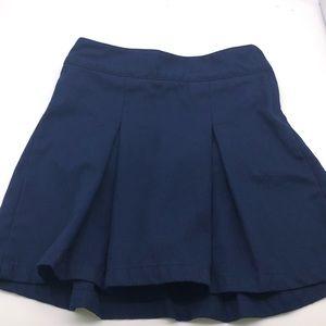 Cat & Jack Girls Blue uniform skirt S7